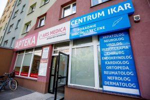 Centrum Ikar, ul. Krynicka Wrocław (Przychodnia)